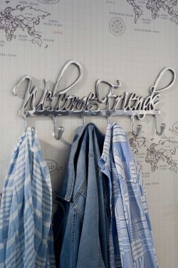Coatrack Welcome Friends
