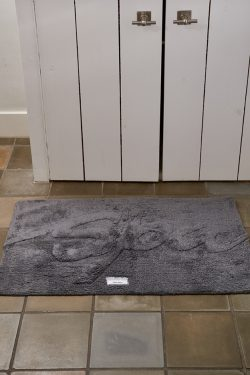 Bath Mat 'Spa' anthracite