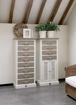 Long Key Chest Drawer/ Doors