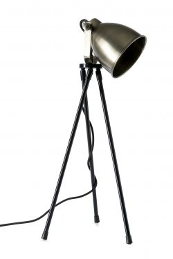 Bricklane Table Lamp steel