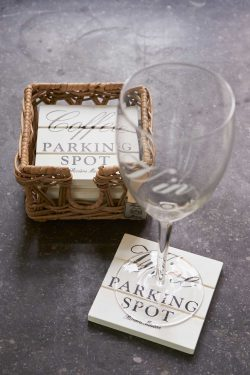 Parking Spot Coasters