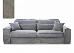 Metropolis Sofa 2,5 seater Stone
