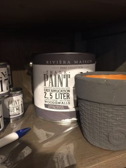 RM Chalk Paint NO17 charcoal 100ml