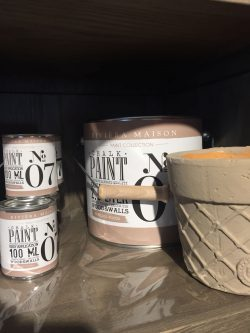RM Chalk Paint NO07 mocca 100ml