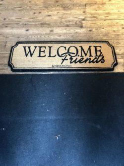 Doormat Welcome Friends