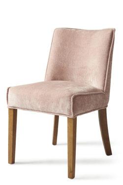 Bridge Lane Dining Chair Velvet Pink