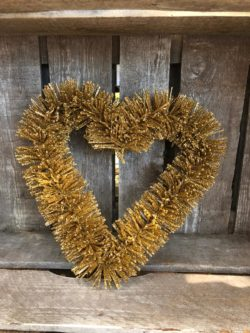 Central Park Heart Wreath gold