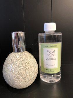 Geurbrander navulolie Lacrosse 500ml Green tea&lime