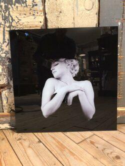 Foto Marilyn Monroe-202 glas 50x50 cm