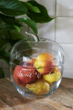 Sweet & Tasty Apple Storage Jar