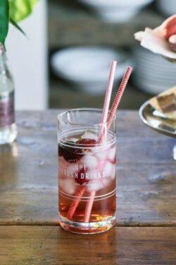 Fresh Drinks Long Drink Glass