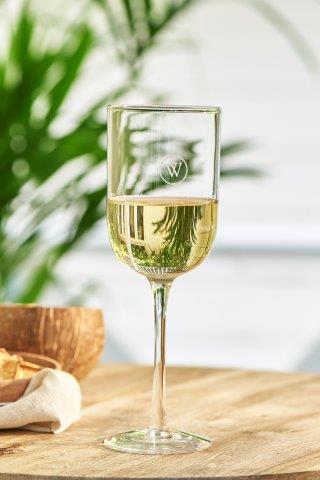 W-White Wine Glass