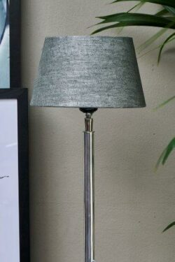 Loveable Linen Lampshade grey 15x20