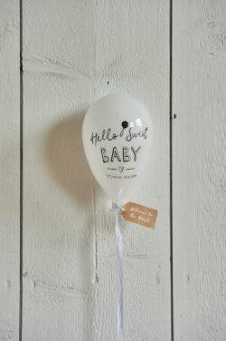 Hello Sweet Baby Balloon