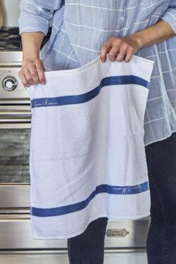 Kitchen Towel pure white 50x50