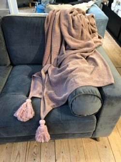 Tassel St Washed Throw pi 200x150