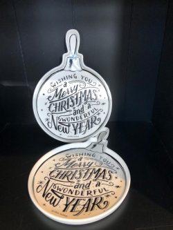 Christmas Ornament Plate M