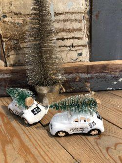 Be Happy Car Ornament