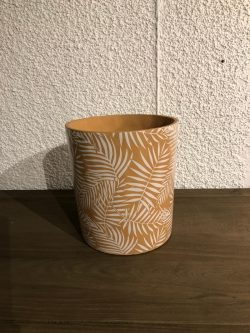 Botanical Leaf Pot