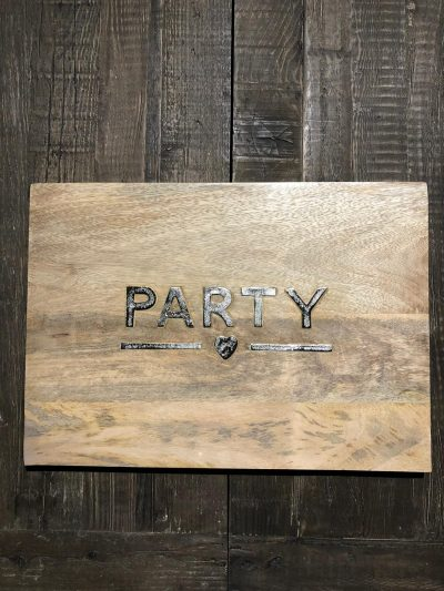 RM Party Chopping Board