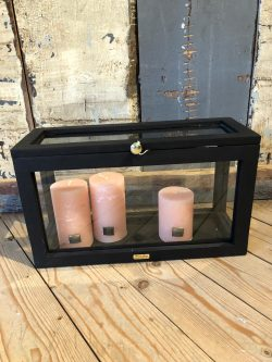 Beach House Display Box black 40x15