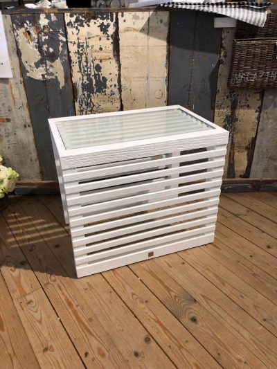 Divers Cove End Table White