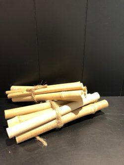 Bamboo Bliss Deco Sticks L 6 pcs