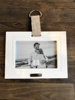 Lovely Linen Photo Frame 10x15