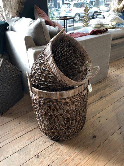 RR Diamond Weave Basket L~